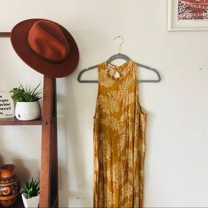 Novella Royale Moonfire Dress in Gold Dahlia